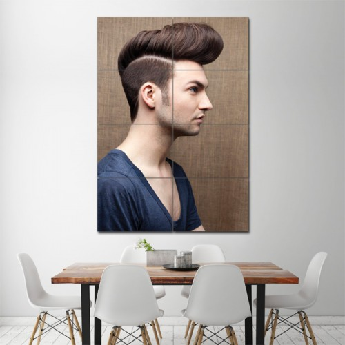 Hipster Haircut Style Barber Haircuts Giant Wall Art Poster