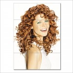 Long Curly Hair Styles Barber Haircuts Giant Wall Art Poster