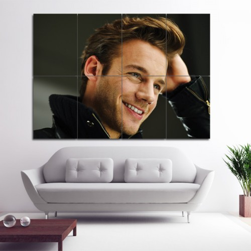 Mens Curly Hairstyles Barber Haircuts Block Giant Poster