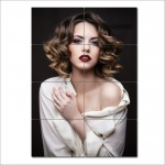 Medium Length Wavy Hairstyle Barber Haircuts Giant Poster