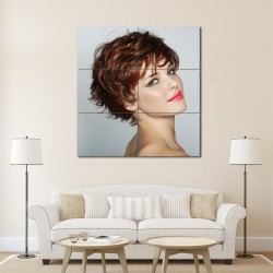 Fransiger Shortcut Hair style Barber Haircuts Block Giant Wall Art Poster (P-1336)