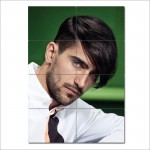 Men Medium Length hairstyles Barber Haircuts Giant Poster