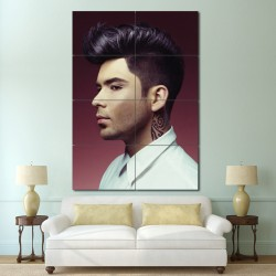 Short Back and Sides Barber Haircuts Block Giant Wall Art Poster (P-1352)