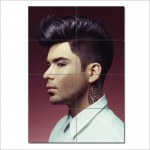 Short Back and Sides Barber Haircuts Block Giant Poster