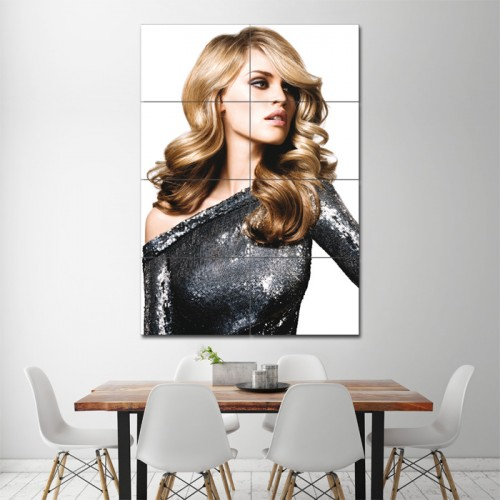 Blond Long Wavy Hairstyle Barber Haircuts Giant Poster