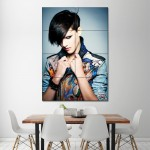 Boyfriend Look Hairstyle Haircut Block Giant Wall Art Poster