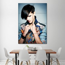 Boyfriend Look Hairstyle Haircut Block Giant Poster (P-1378)