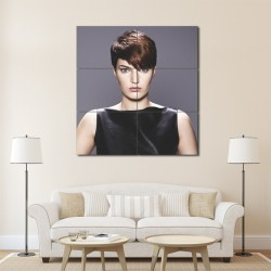 Bob Haaresyle Barber Haircuts Block Giant Wall Art Poster (P-1381)