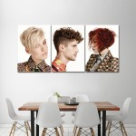 Short Punk Hairstyles Barber Haircuts Giant Wall Art Poster