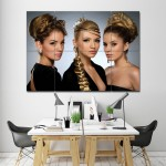 Hairstyles For Long Hair Barber Haircuts Giant Wall Art Poster