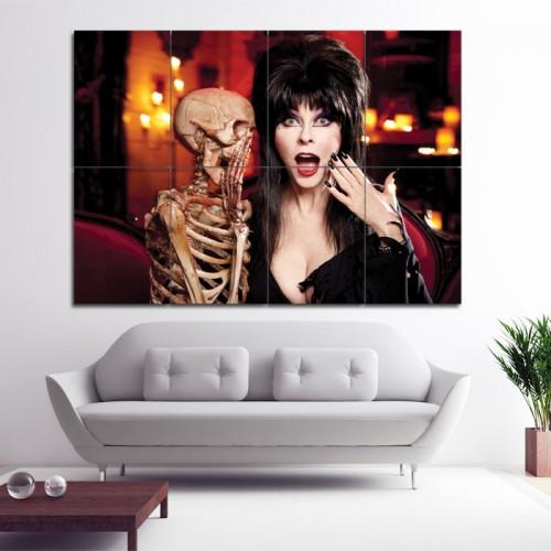โปสเตอร์ ขนาดใหญ่ ภาพนักแสดง Elvira Mistress of the Dark