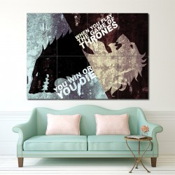 Game Of Thrones Block Giant Wall Art Poster (P-1391)