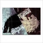 Game Of Thrones Block Giant Wall Art Poster