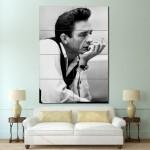 โปสเตอร์ ขนาดใหญ่ ภาพนักร้อง Johnny Cash จอห์นนี แคช