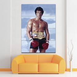 Rocky Sylvester Stallone Block Giant Wall Art Poster (P-1394)