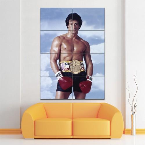 โปสเตอร์ ขนาดใหญ่ ภาพ Rocky Sylvester Stallone