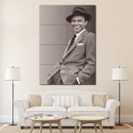 โปสเตอร์ ขนาดใหญ่ ภาพนักร้อง Frank Sinatra แฟรงก์ ซินาตรา