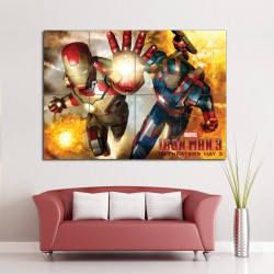 Iron Man 3 Block Giant Wall Art Poster (P-1398)