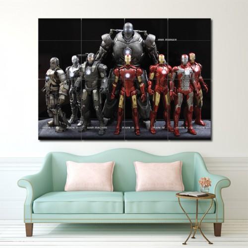 โปสเตอร์ ขนาดใหญ่ ไอรอนแมน Iron Man comics movies Avengers