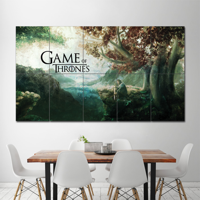 Game Of Thrones Art Block Giant Wall Poster