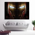 โปสเตอร์ ขนาดใหญ่ ภาพ Iron Man Helmet ไอรอนแมน