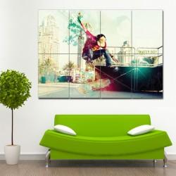 โปสเตอร์ ขนาดใหญ่ ภาพ Skateboard Skater Boy  (P-1406)