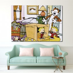 Calvin and Hobbes Duplicator Block Giant Wall Art Poster (P-1408)