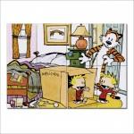 โปสเตอร์ ขนาดใหญ่ การ์ตูน Calvin and Hobbes Duplicator