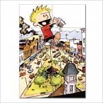 ขาย โปสเตอร์ ขนาดใหญ่ การ์ตูน Calvin and Hobbes Giant