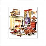 Calvin and Hobbes #8 Block Giant Wall Art Poster