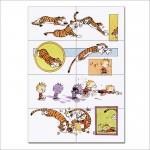 โปสเตอร์ ขนาดใหญ่ การ์ตูน Calvin and Hobbes #9