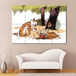 Calvin and Hobbes #12 Block Giant Wall Art Poster