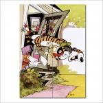 โปสเตอร์ ขนาดใหญ่ การ์ตูน Calvin and Hobbes #13