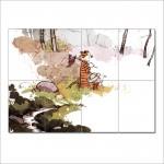 โปสเตอร์ ขนาดใหญ่ การ์ตูน Calvin and Hobbes #16