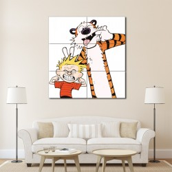 Calvin and Hobbes  Emotion Block Giant Wall Art Poster (P-1424)