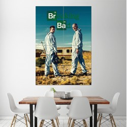 Breaking Bad Block Giant Wall Art Poster (P-1431)