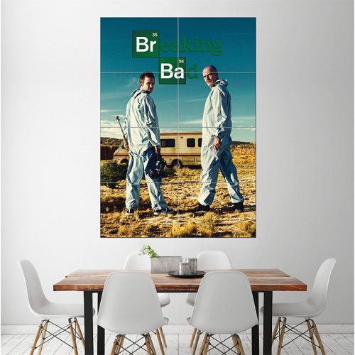 Breaking Bad Block Giant Wall Art Poster