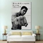 Muhammad Ali Block Giant Wall Art Poster