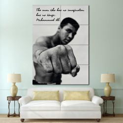 Muhammad Ali Quote Block Giant Wall Art Poster (P-1432)