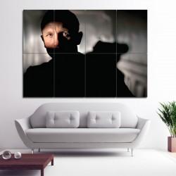 James Bond 007  Daniel Craig Block Giant Wall Art Poster (P-1436)