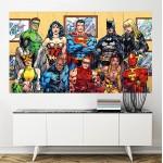 โปสเตอร์ ขนาดใหญ่ ภาพ DC Comics Superheroes