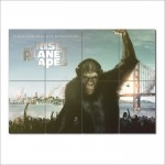 โปสเตอร์ ขนาดใหญ่ ภาพ Rise of The Planet of The Apes