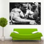 Evan Centopani - Biceps workout Block Giant Wall Art Poster