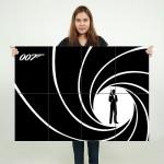 โปสเตอร์ ขนาดใหญ่ ภาพ เจมส์ บอนด์ James Bond 007