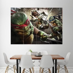 Teenage Mutant Ninja Turtles Block Giant Wall Art Poster (P-1444)