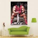 โปสเตอร์ ขนาดใหญ่  ภาพ Kai Greene - after workout