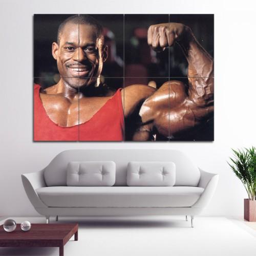 Vince Taylor - Biceps Bodybuilding  Wand-Kunstdruck Riesenposter