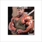 Victor Martinez - Biceps Bodybuilder Wand-Kunstdruck Riesenposter