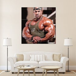 Victor Martinez - Biceps Bodybuilder Block Giant Wall Art Poster (P-1456)