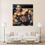 Victor Martinez - Abs Wand-Kunstdruck Riesenposter